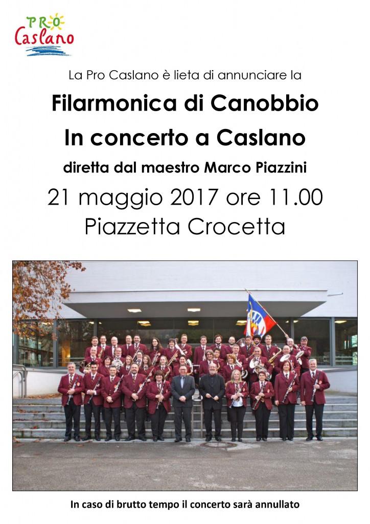 Locandina concerto filarmonica di Canobbio 2017 1